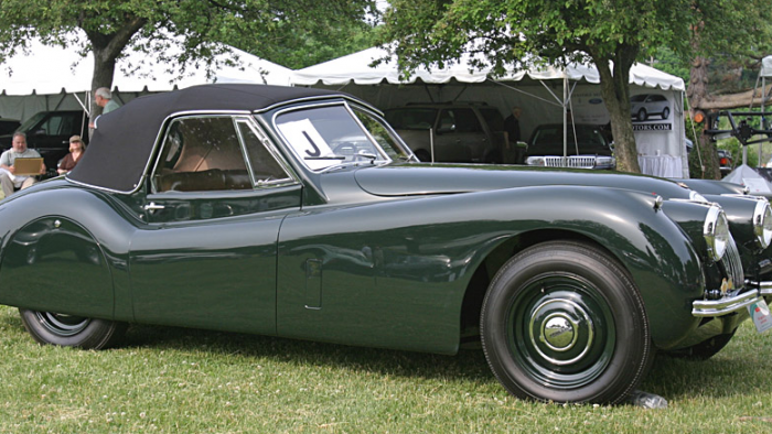 Jaguar XK120 Drop Head Coupé