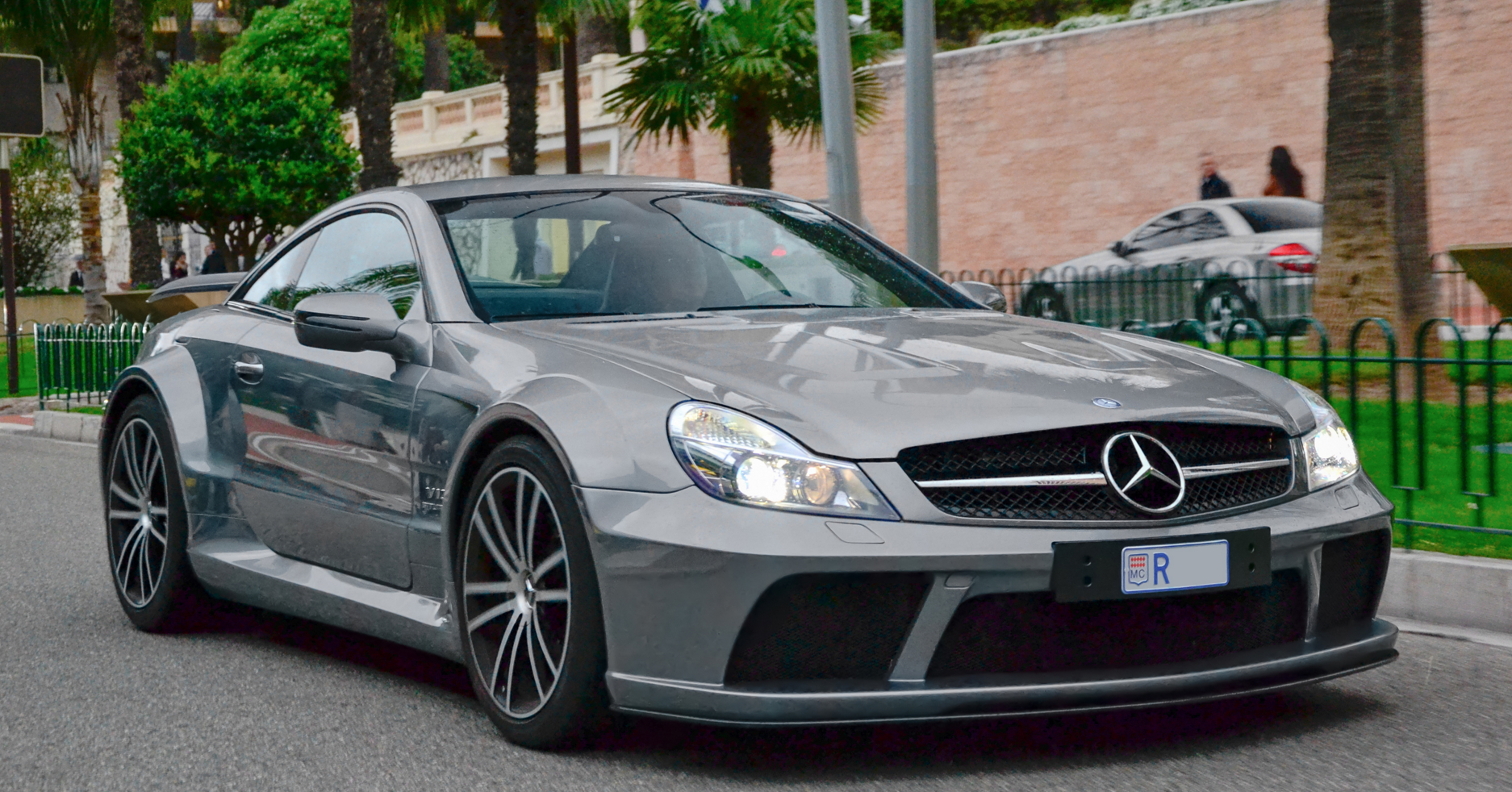 2009 mercedes benz sl 65 amg black series