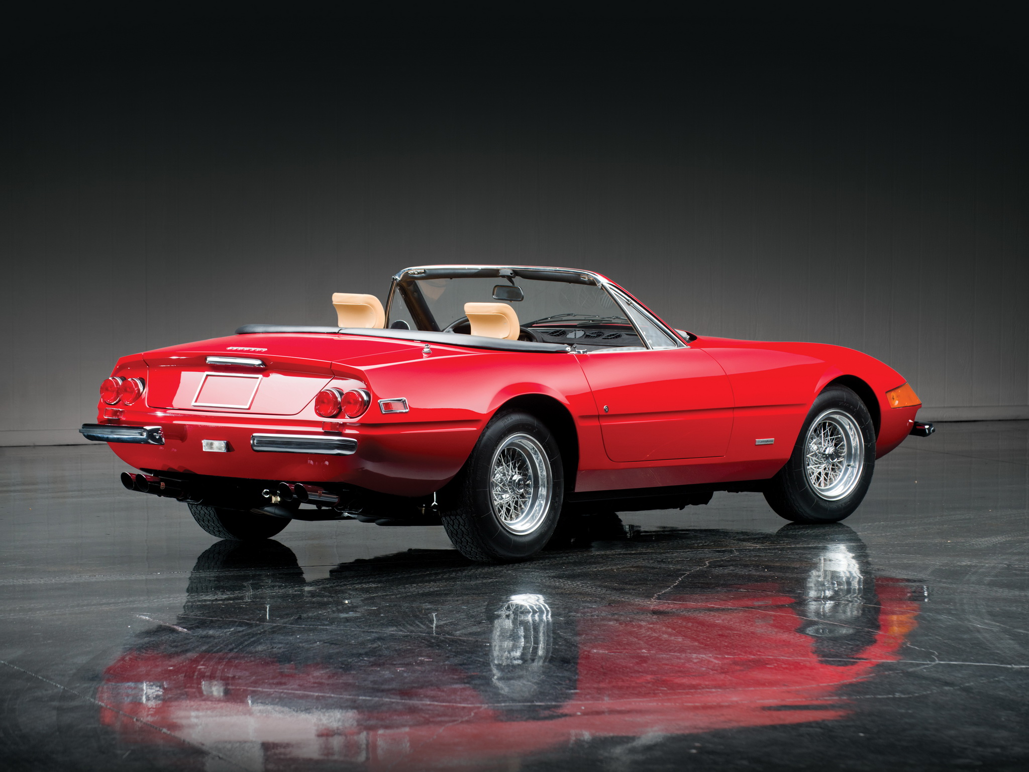 1970 ferrari 365 gtb 4 daytona spider gallery. Black Bedroom Furniture Sets. Home Design Ideas