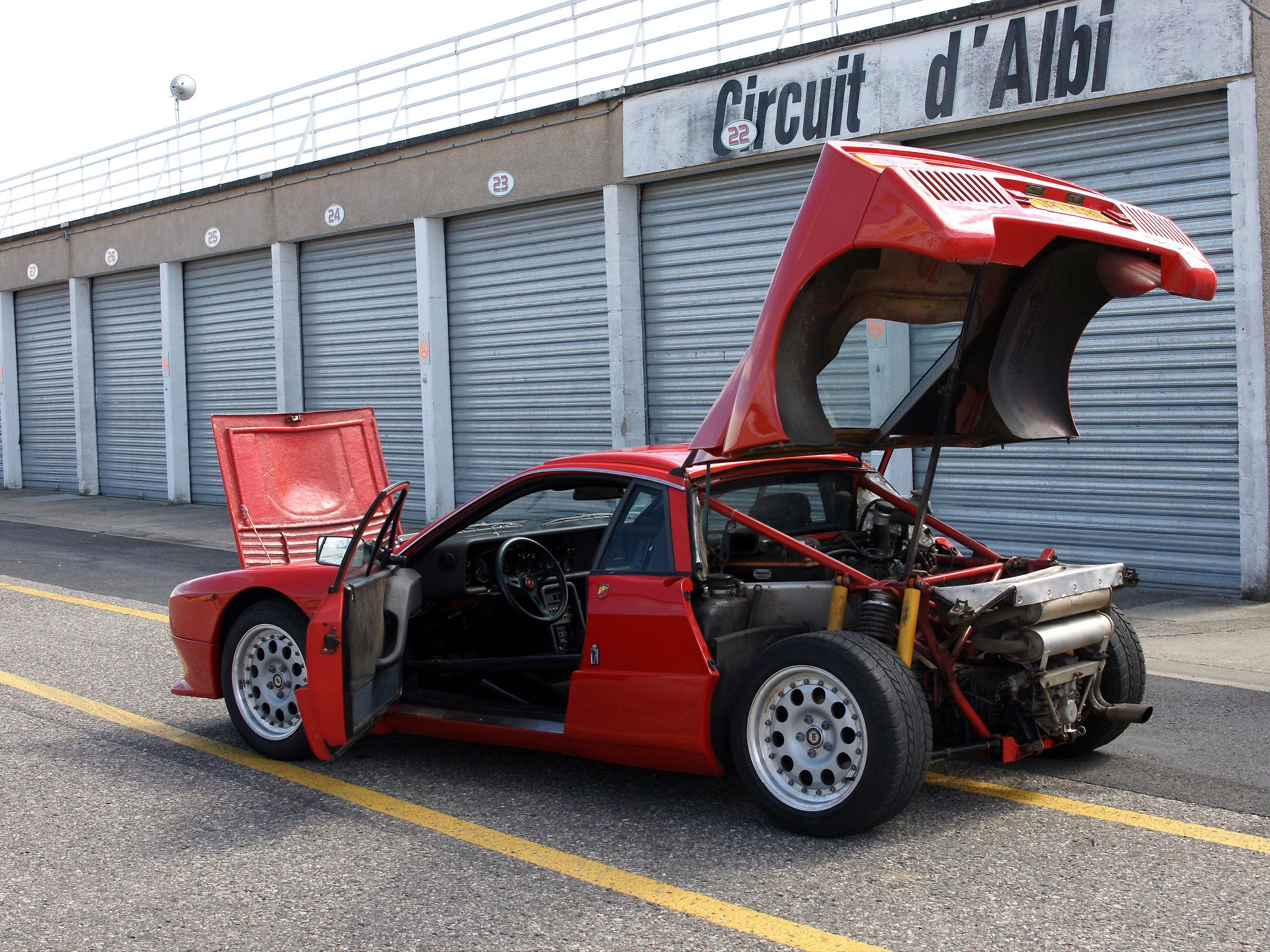 1982 Lancia 037 Stradale Gallery Supercars Net