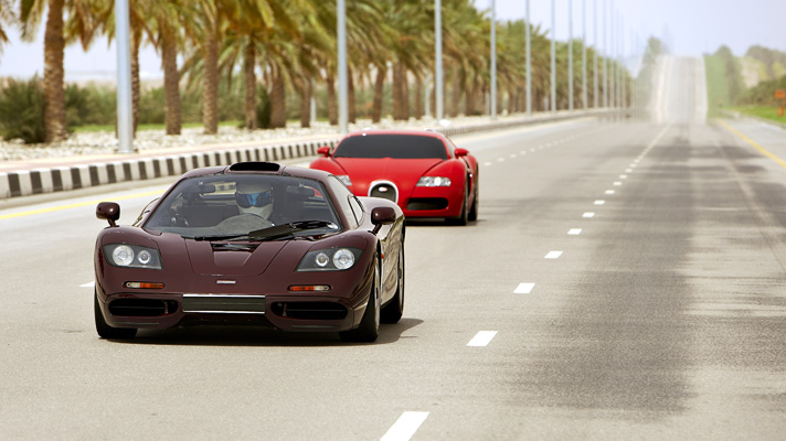 Video Bugatti Veyron Vs Mclaren F1 Top Gear Mclaren