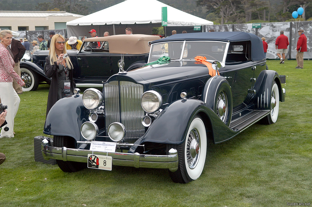 1934 Packard Twelve Model 1108 Gallery