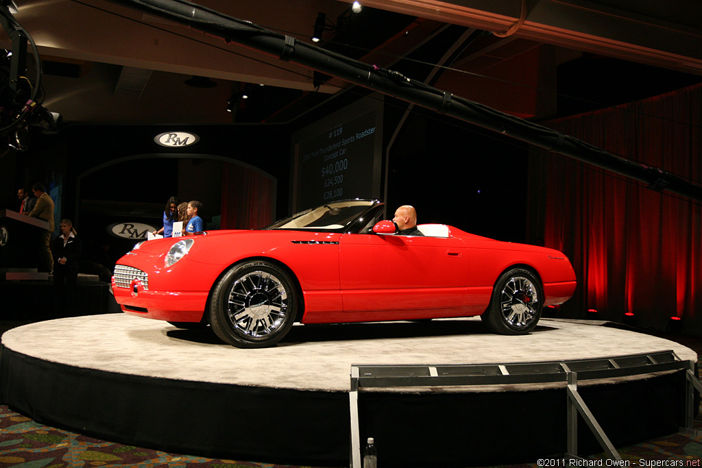 2001 Ford Thunderbird Sports Roadster Concept