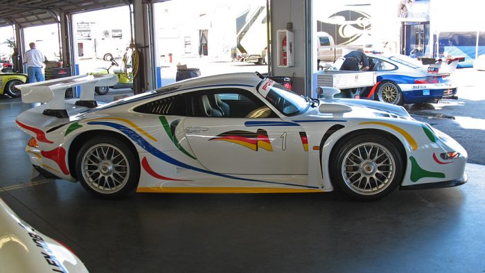 1996 Porsche 911 GT1 Straßenversion