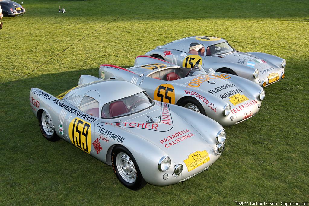 1953 Porsche 550 Prototype Coupé Gallery