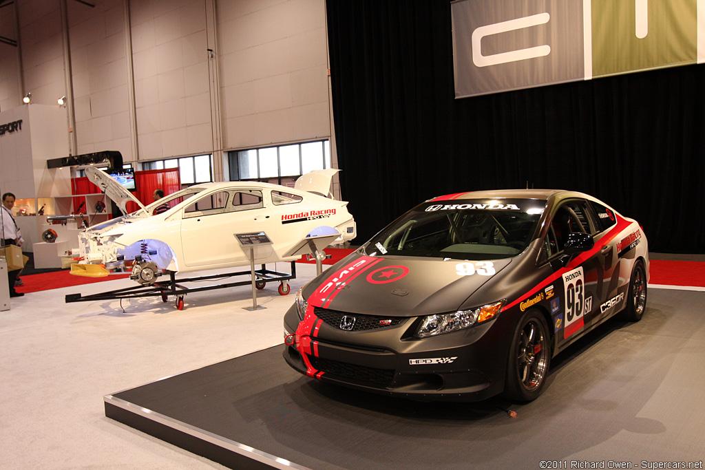 2011 HPD Civic Si Racecar