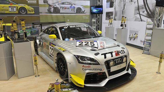 2010 Audi TT RS SP4T Gallery
