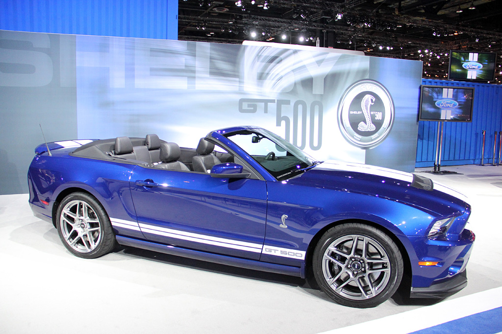 2013 Shelby GT500 Convertible Gallery