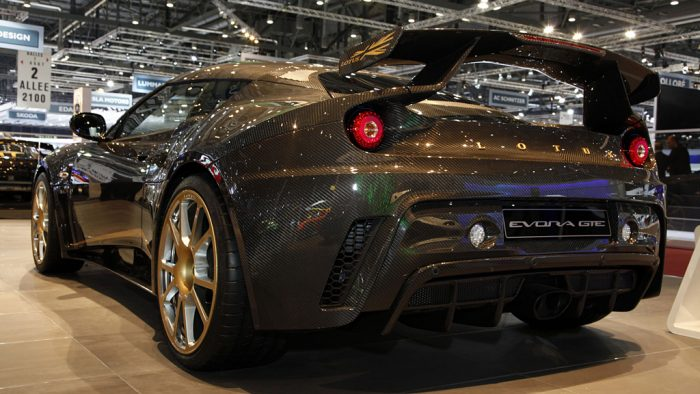 2011 Lotus Evora GTE Road Car Concept Gallery