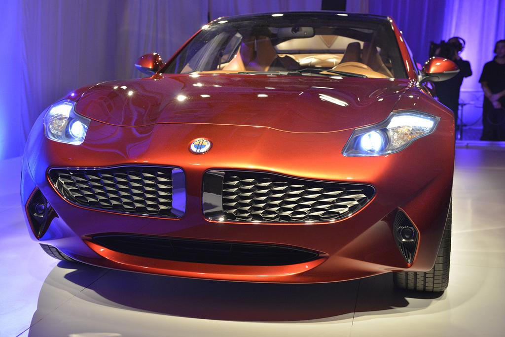 2012 Fisker Atlantic Design Prototype
