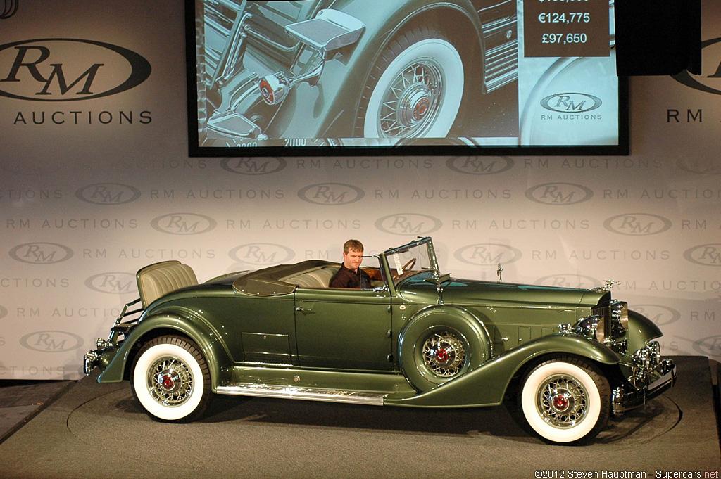 1933 Packard Twelve Model 1006