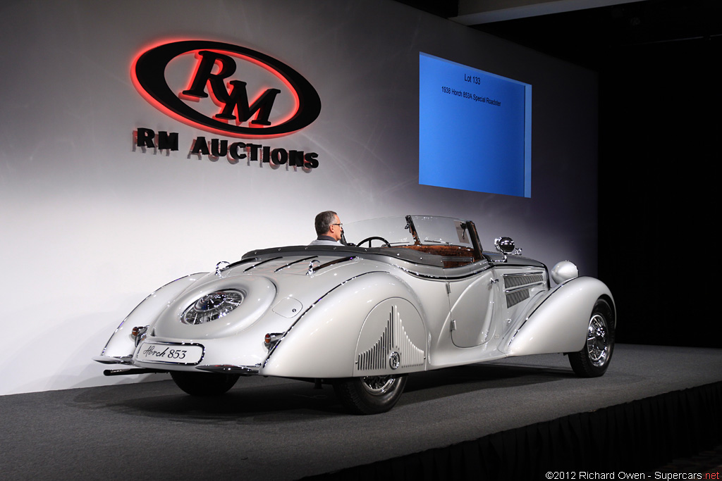 1937 Horch 853A Sportroadster Gallery