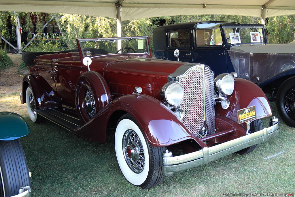 1934 Packard Twelve Model 1107