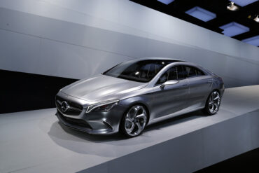 2012 Mercedes-Benz Concept Style Coupé Gallery