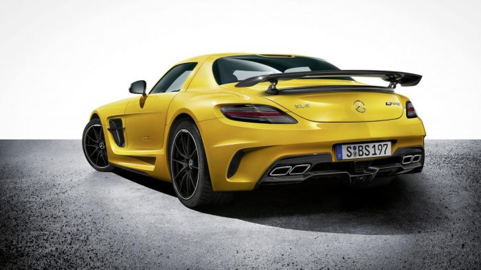 2013 Mercedes-Benz SLS AMG Coupé Black Series Gallery