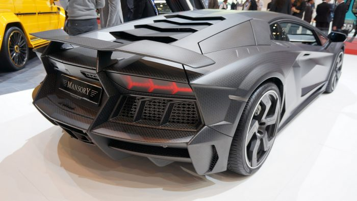 2012 Mansory Carbonado 'Black Diamond' Gallery