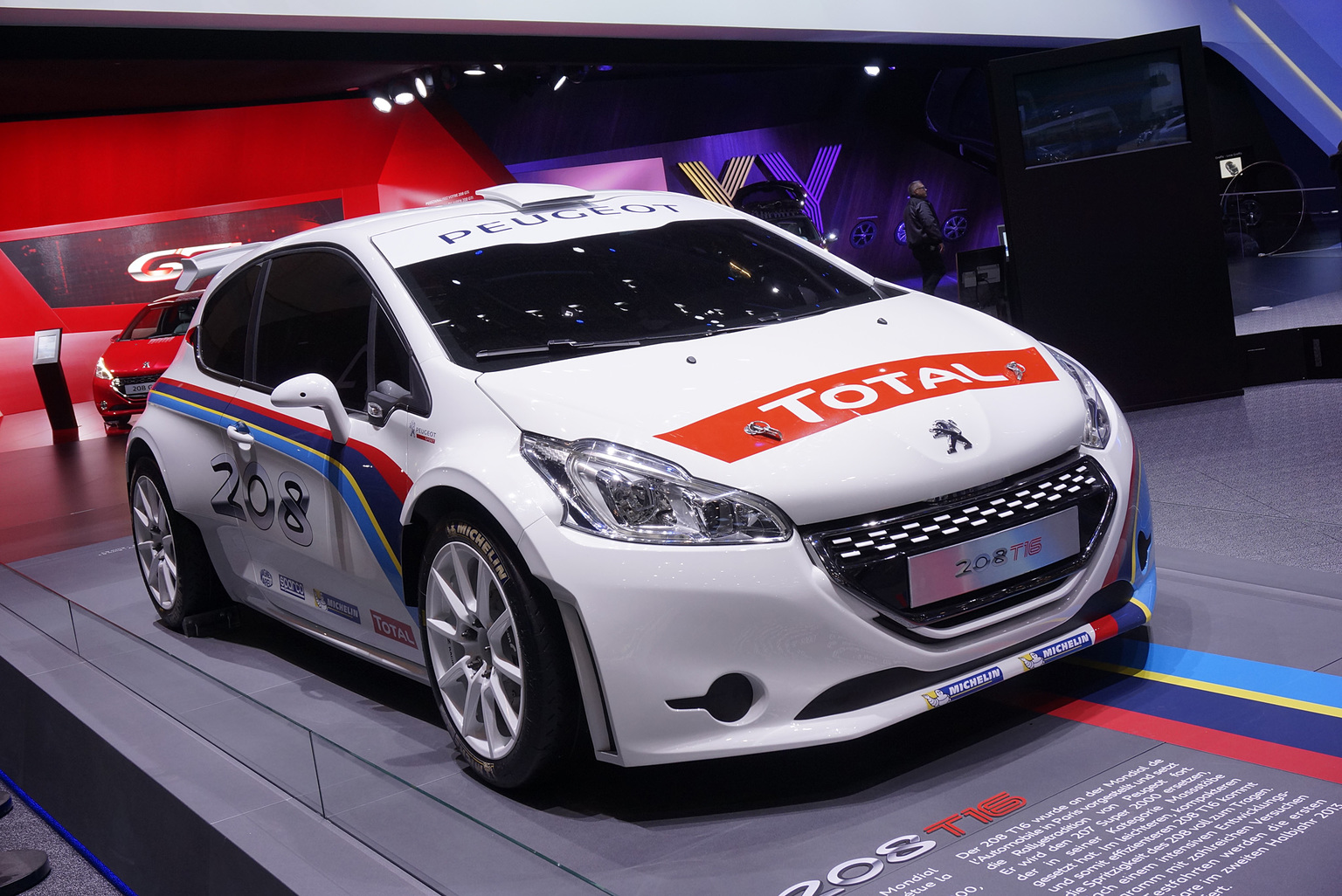 2013 peugeot 208 t16 peugeot. Black Bedroom Furniture Sets. Home Design Ideas