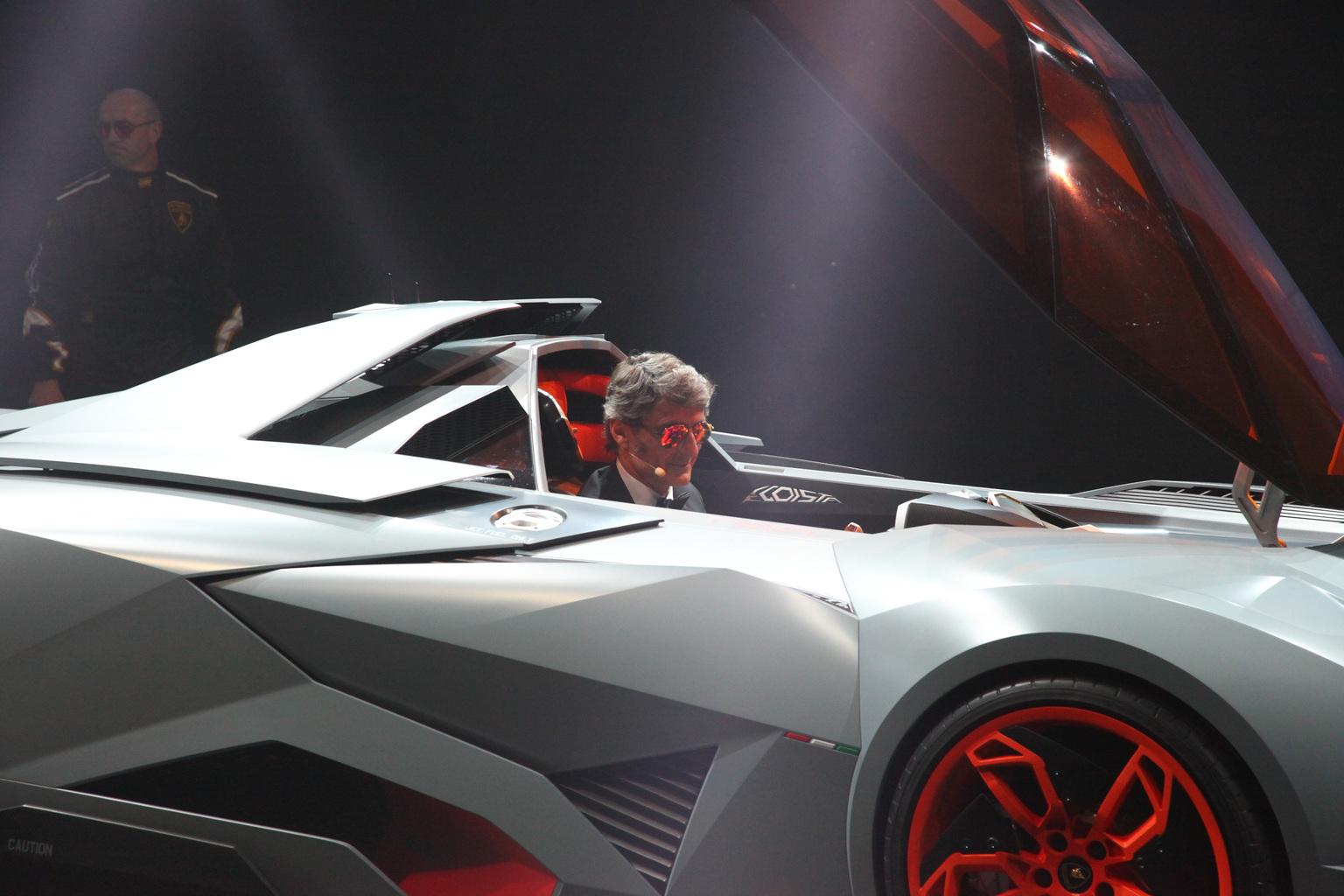 2013 Lamborghini Egoista Gallery