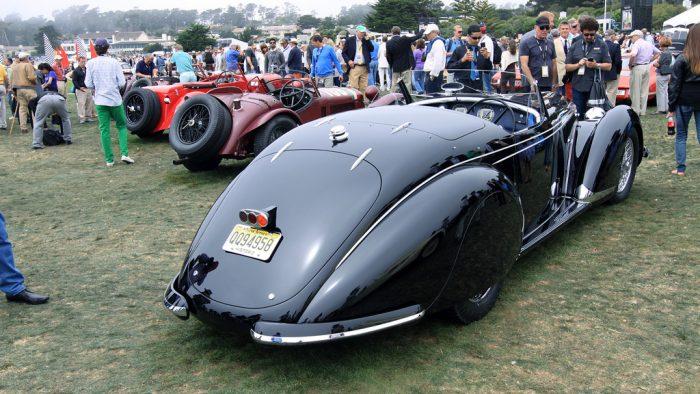 1938 Alfa Romeo 8C 2900B Lungo Spyder Gallery