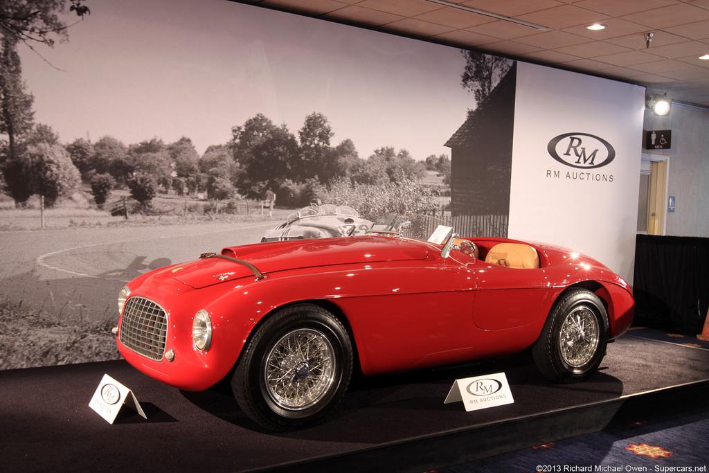 1948 1950 Ferrari 166 Mm Barchetta Supercars Net