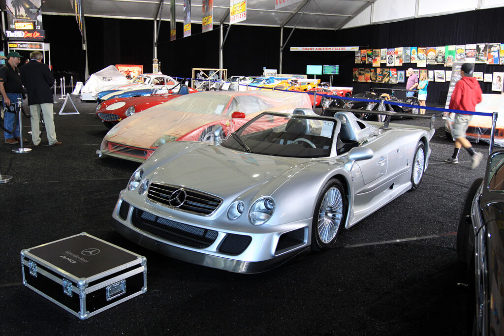 2002 Mercedes-Benz CLK GTR Roadster Gallery