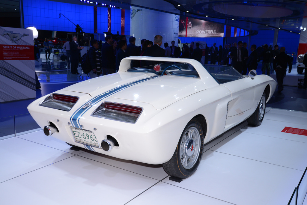 1962 Ford Mustang I Concept Gallery Gallery Supercars Net