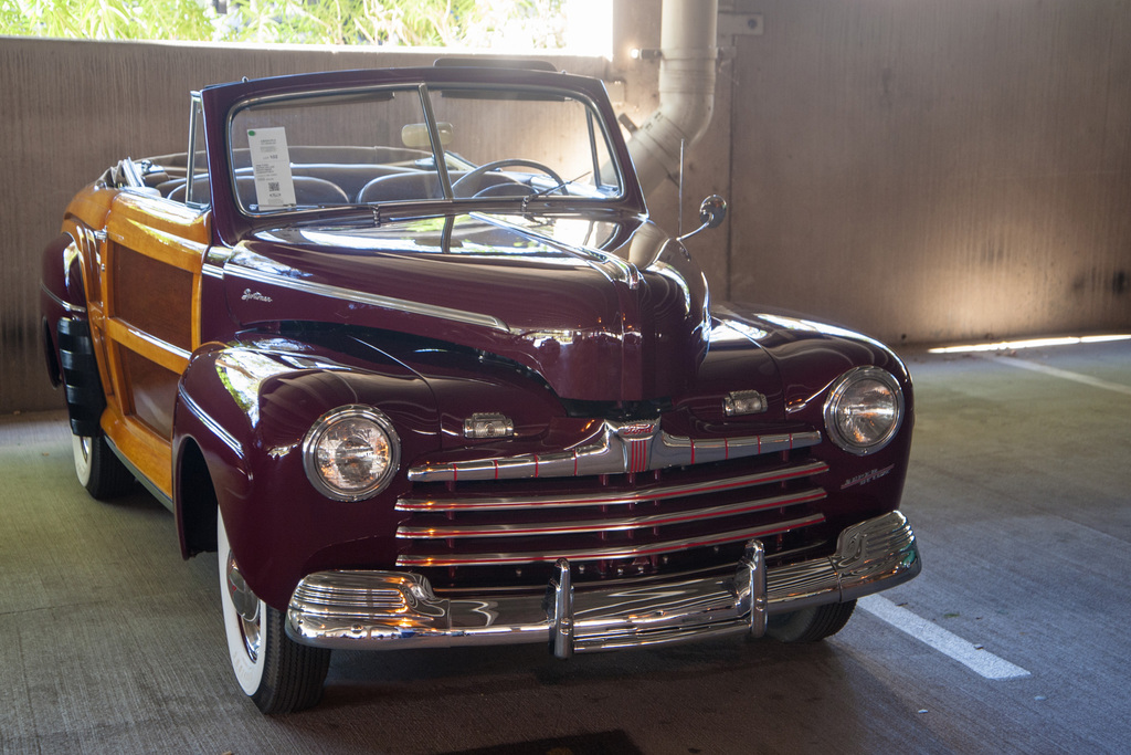 1946→1948 Ford Super Deluxe Sportsman