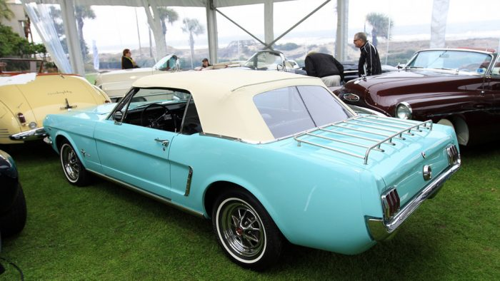 1964→1965 Ford Mustang Convertible