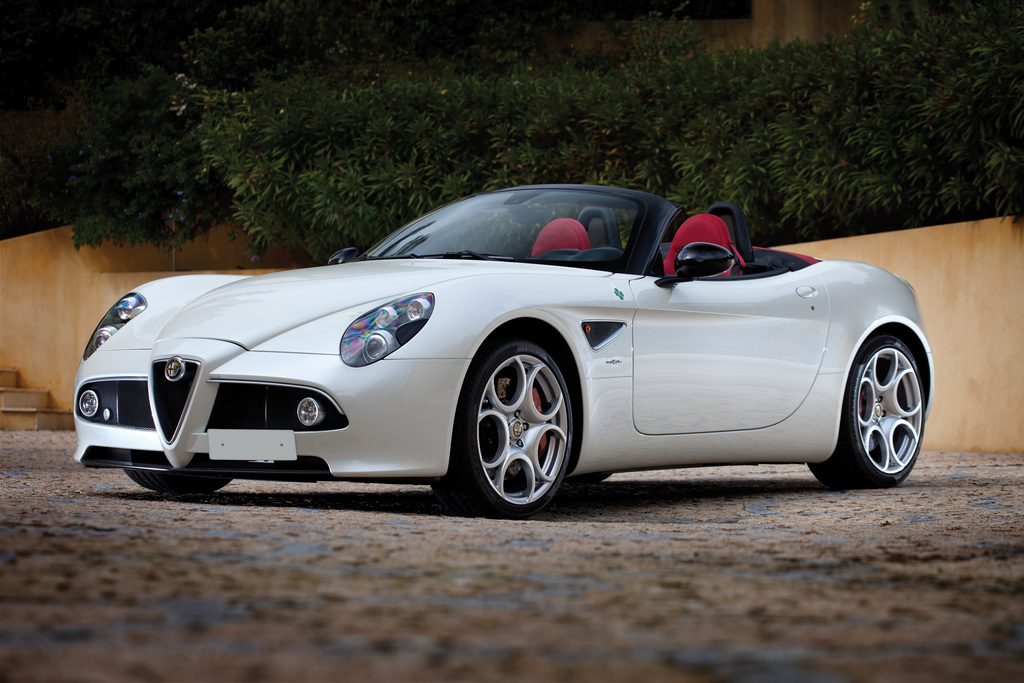 2008 alfa romeo 8c spider alfa romeo. Black Bedroom Furniture Sets. Home Design Ideas