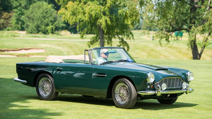 1961 Aston Martin DB4 Convertible Gallery