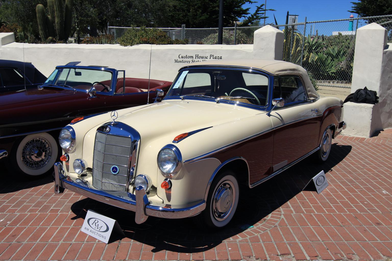 1956→1959 Mercedes-Benz 220 S Cabriolet