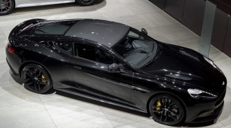 2014 Aston Martin DB9 Carbon Black Edition