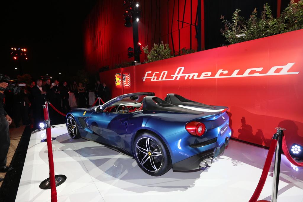 2014 Ferrari F60America