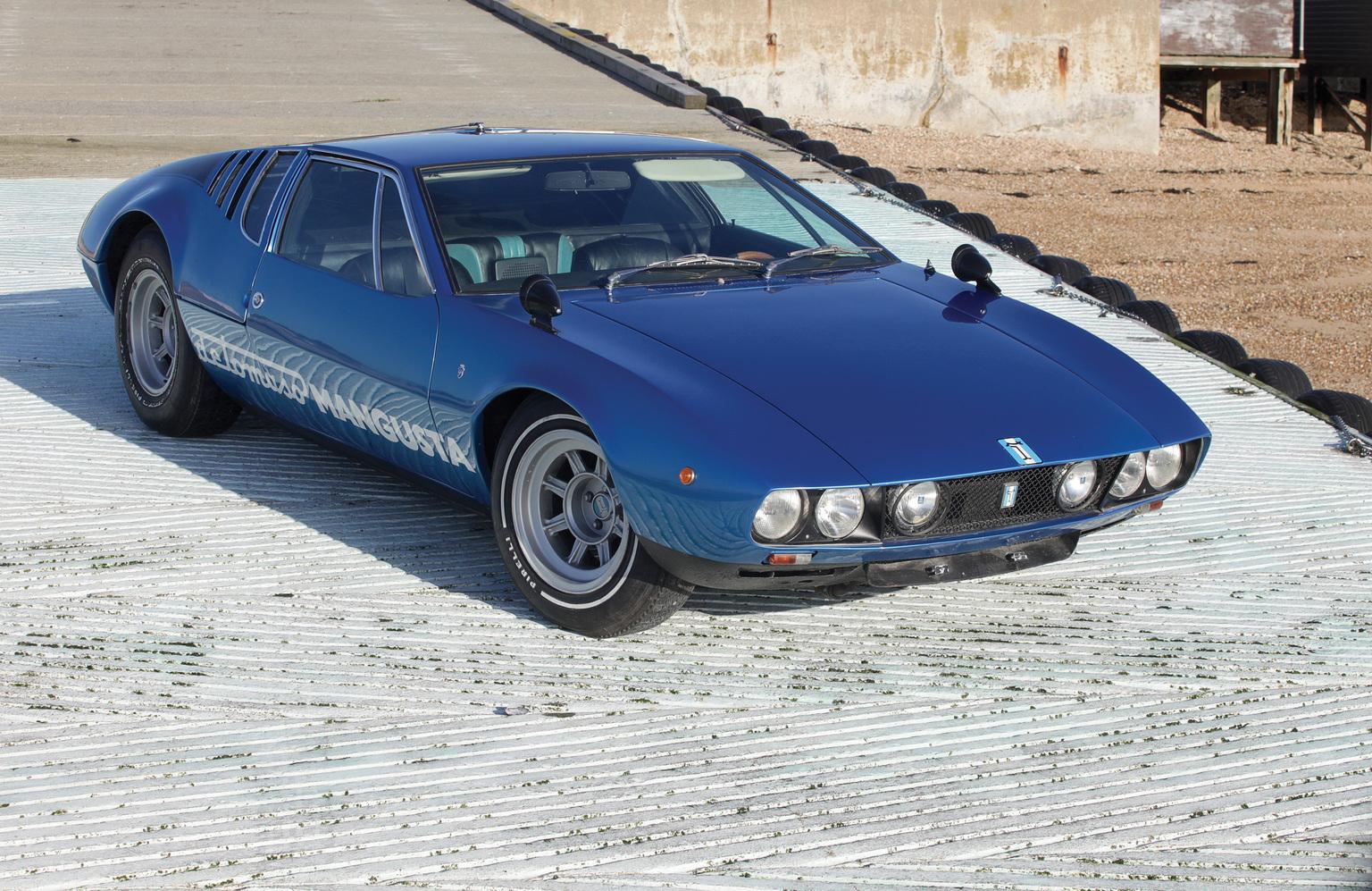 1967→1971 De Tomaso Mangusta