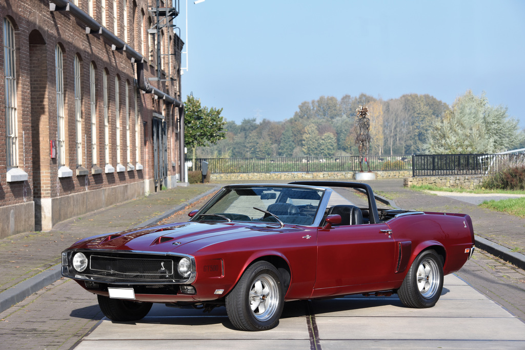 1969→1970 Shelby GT500 Convertible