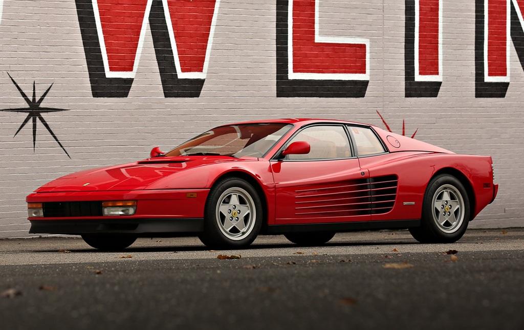 1984→1991 Ferrari Testarossa