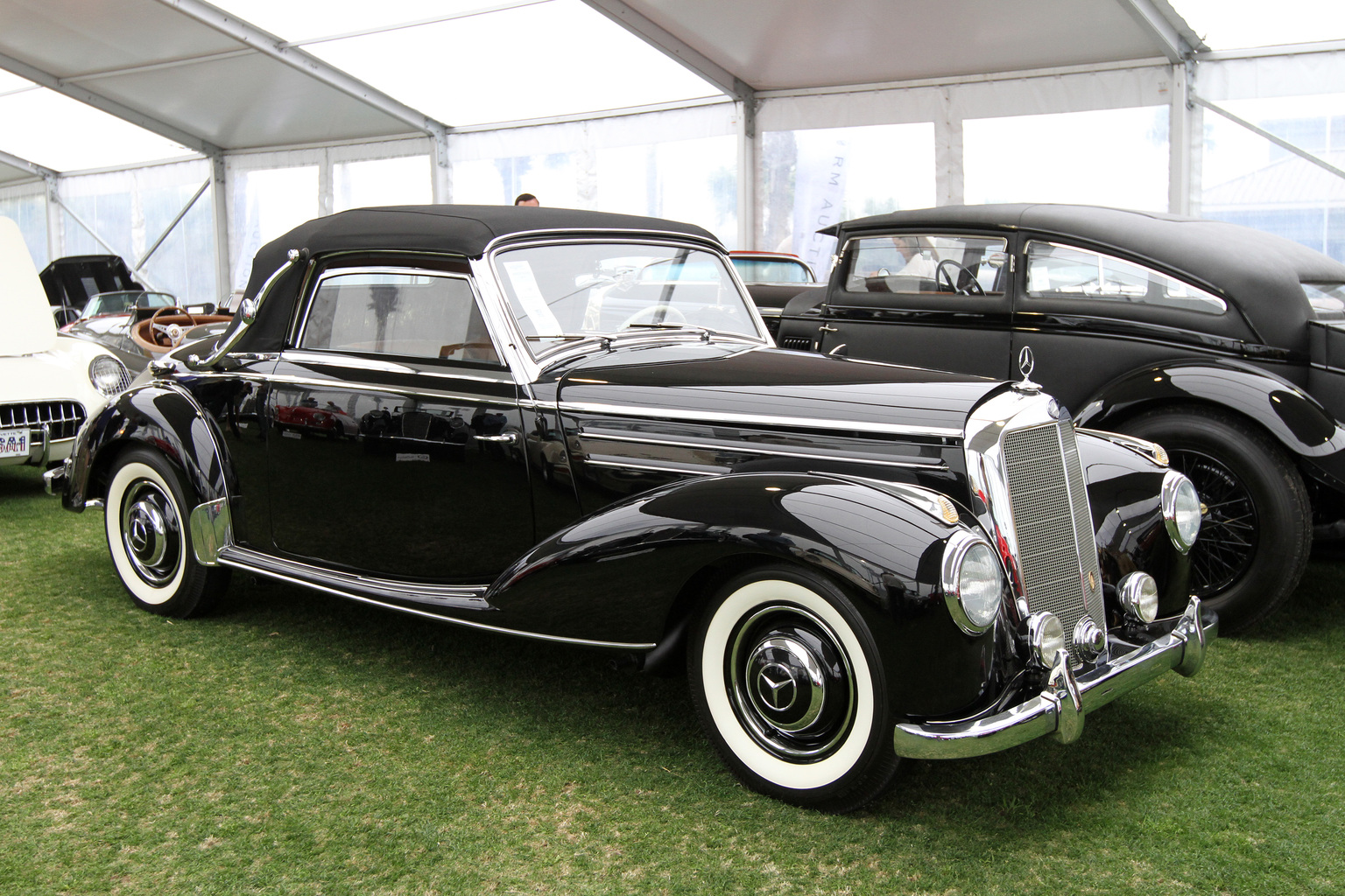 1951 mercedes benz 220 cabriolet a gallery gallery. Black Bedroom Furniture Sets. Home Design Ideas