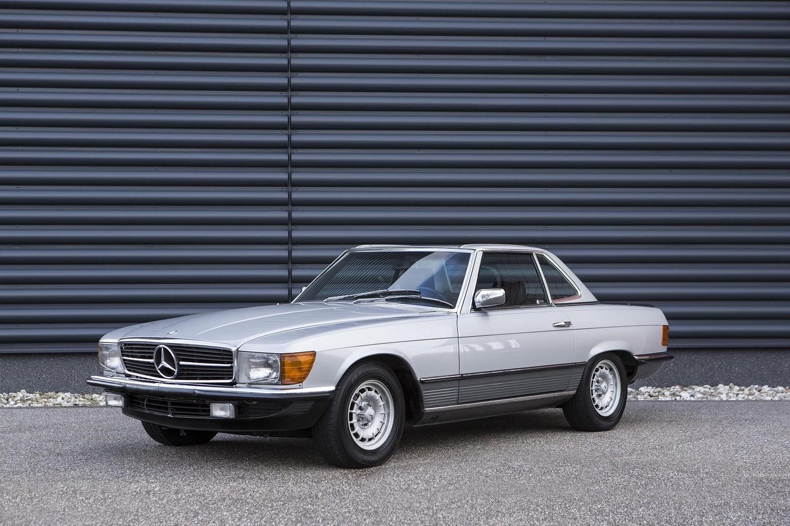 1981→1989 Mercedes-Benz 500SL
