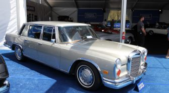 1963 Mercedes-Benz 600 Limousine Gallery