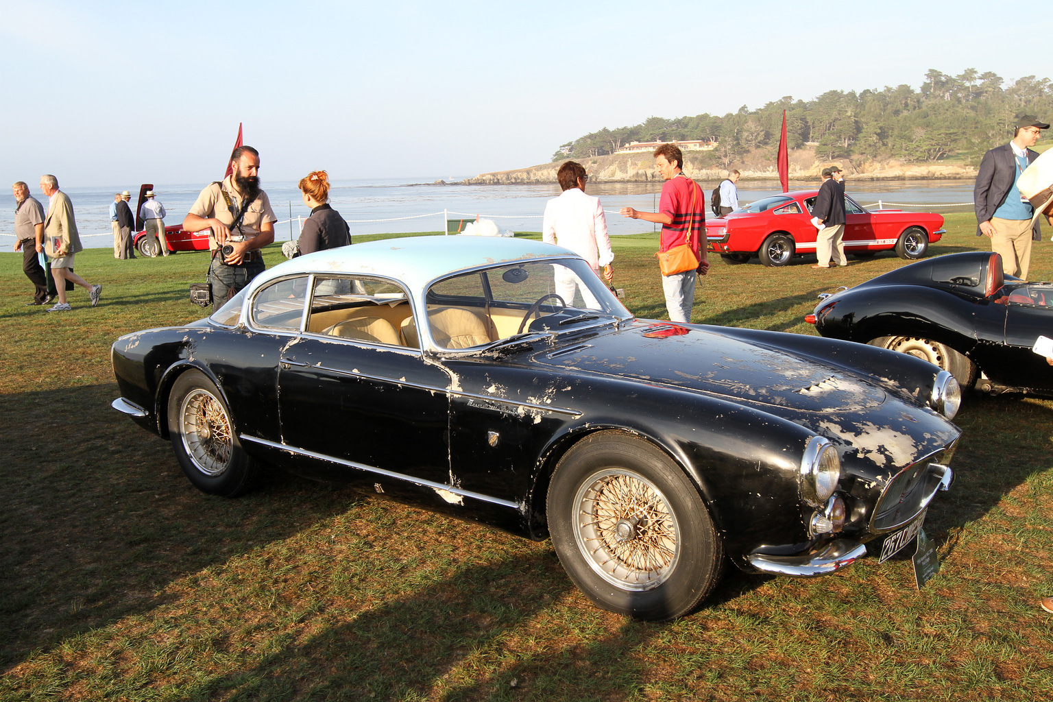 1954 Maserati A6g 2000 Sport Gallery Gallery Supercars Net
