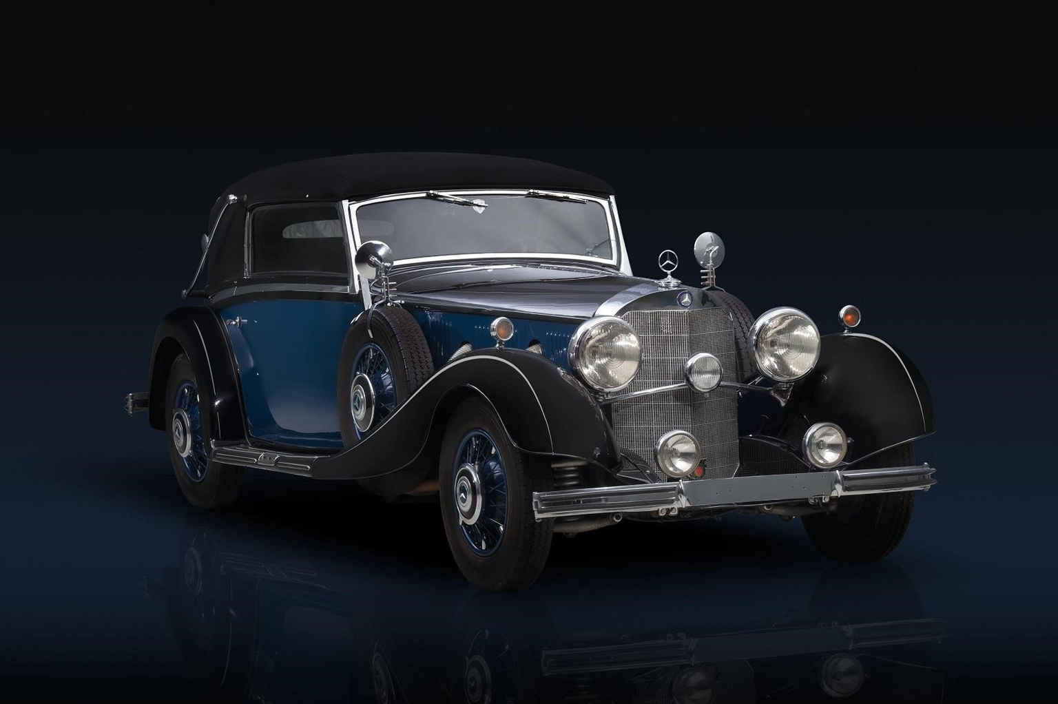 1934 mercedes benz 500 k review for Mercedes benz chantilly