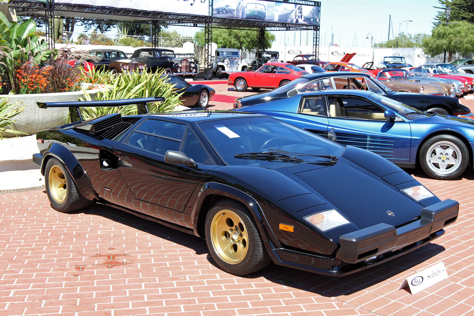 1986 lamborghini countach lp5000 qv gallery. Black Bedroom Furniture Sets. Home Design Ideas