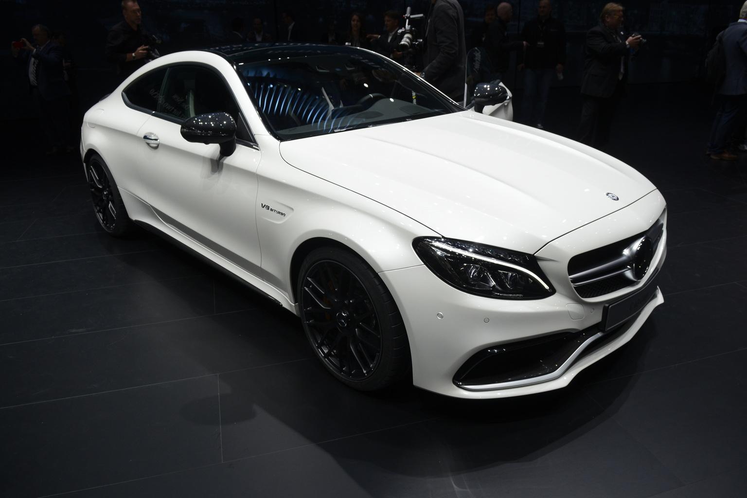 2016 Mercedes-AMG C 63 Coupé