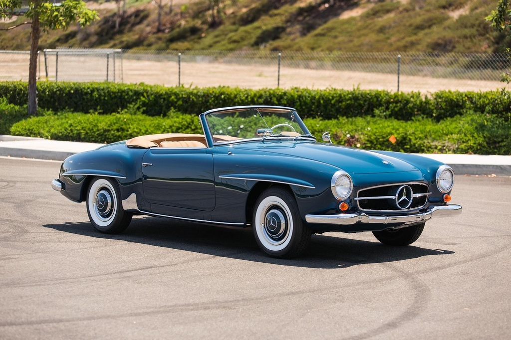 1955 1963 mercedes benz 190sl