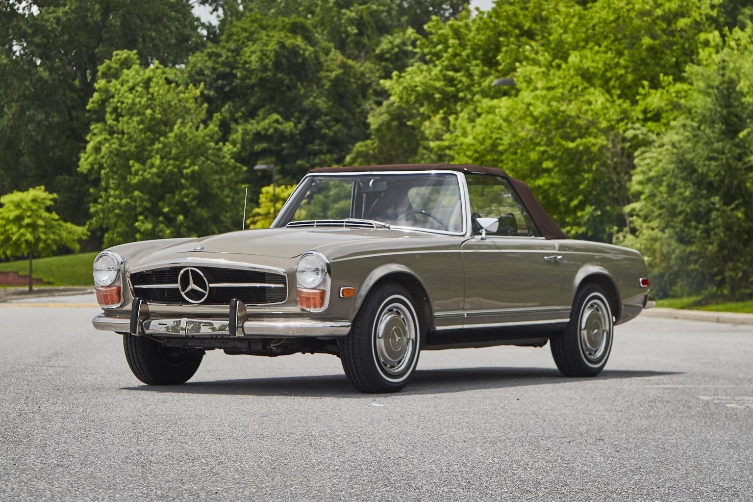 1967 1971 mercedes benz 280 sl review