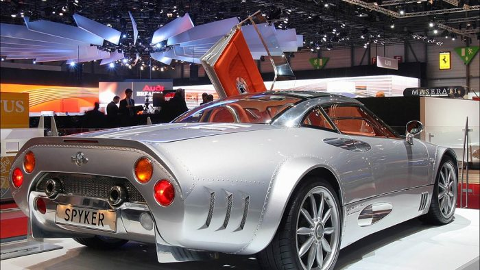 2002 Spyker C8 Double 12 S Gallery Gallery Supercars