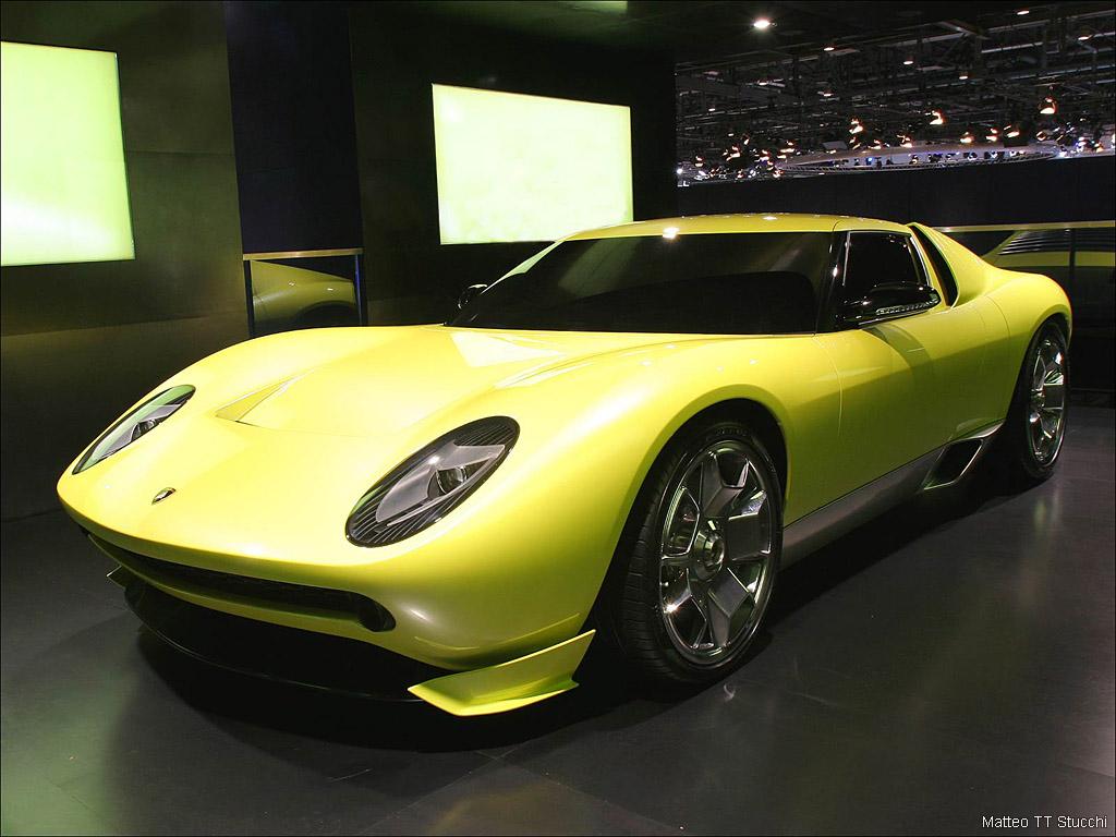 2006 Lamborghini Miura Concept Gallery