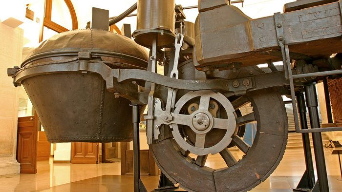 1769 Cugnot Steam Tractor