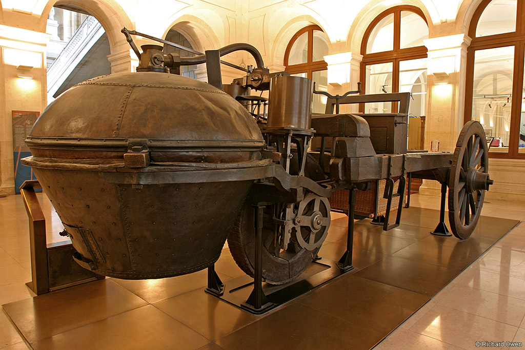 1769 Cugnot Steam Tractor Supercars Net