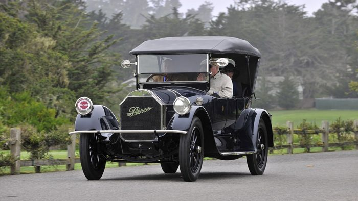 1913→1918 Pierce-Arrow Model 48